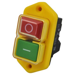 Magnetic switch KJD17B 230V 5pin for workshop machines and stationary power tools