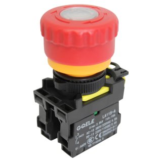 Emergency stop push button for various machines and electrical appliances HY57B