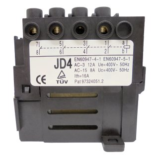 Switch-Relay KEDU JD4 400V with 4 contacts
