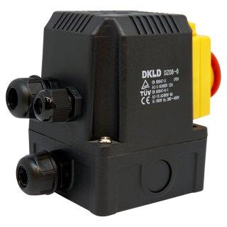 Maschinenschalter- Anbauschalter 400V mit integriertem Relais und Unterspannungsauslösung
