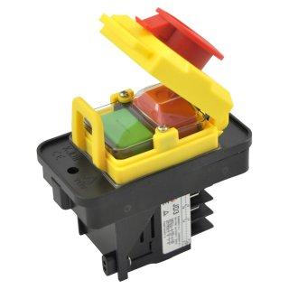 Maschinenschalter KEDU KJD11 mit Schütz-Relais und Unterspannungsauslöser JD3  230V oder 400V 400V