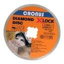 Professional Diamanttrennscheibe X-LOCK Ø125 mm in...