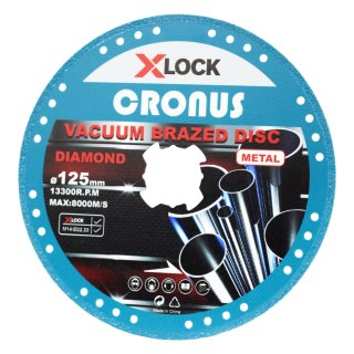 Professional diamond cutting disc X-LOCK Ø125 mm in various designs and sizes for metal
